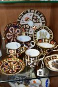 A COLLECTION OF ASSORTED ROYAL CROWN DERBY IMARI ODDMENTS, including two limited edition wavy rim