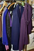 A GROUP OF LADIES WEAR, DAY WEAR AND EVENING, ETC, including Gina Bacon dress and jacket, Lyndetta