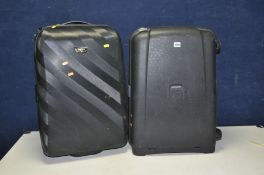 A SAMSONITE HARDSHELL SUITCASE 47cm wide 66cm and an Antler suitcase of similar dimensions (2)