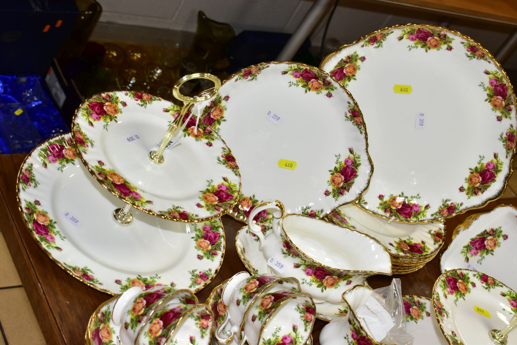 ROYAL ALBERT 'OLD COUNTRY ROSES' DINNER/TEA WARES, NOVELTY TEAPOTS AND TRINKETS, comprising two - Image 2 of 12