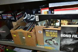 FILM AND MUSIC EPHEMERA, a large collection of books, magazines, CD's, DVD's, etc, mostly concerning