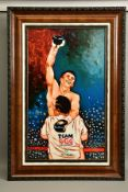 TODD WHITE (AMERICA 1969) 'VICTORY' a portrait of boxing champion Gennady Golovkin, limited