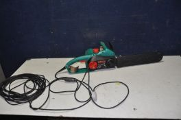 A BOSCH AKE35S 240v ELECTRIC CHAINSAW (PAT fail due to cracked insulation on cable but working )