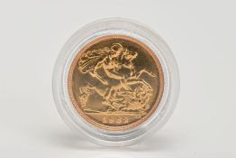 A HALF SOVEREIGN, depicting Queen Elizabeth II, dated 1982, approximate gross weight 4.0 grams,
