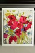 DANIELLE O'CONNOR AKIYAMA (CANADA 1957), 'UNBOUND HEART', a signed limited edition box canvas