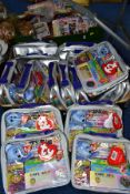 THREE BOXES OF TY BEANIE BABIES ETC, to include sixteen Beanie Baby Club Platinum Membership