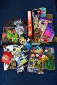 A QUANTITY OF TOYS AND COLLECTABLES, to include all four Ronald McDonald House Charities TY Beanie
