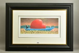 MACKENZIE THORPE (BRITISH 1956) 'CROSSING THE POND', a signed limited edition print 6/49,