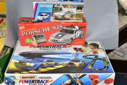 A BOXED MATCHBOX POWERTRACK PLUS ELECTRIC RACING SET, No PP-2000, contents not checked but appears