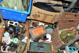 VINTAGE FISHING EQUIPMENT ETC, to include Shakespeare Omni and Sigma rods, Alcocks Superwizard