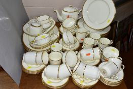 A SIXTY SIX PIECE NORITAKE 'TROY' PART DINNER SERVICE, comprising three meat plates, oval serving