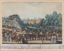 James Pollard, British 1792-1867- The Ceremony of the Procession AD MOTEM as performed by the