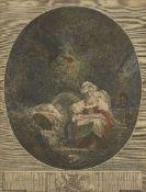 Charles Wilkin, British 1750-1814- Cornelia (Lady Cockburn) and her Children, after Sir Joshua