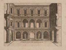 Charles Clément Bervic, French 1756-1822- Le Laocoon, after Pierre Bouillon; copper engraving;