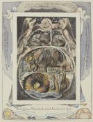 After William Blake, British 1757-1827- Behold Now Behemoth Which I Made with Thee, from The Book of