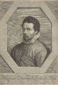 Jean Morin, French c.1605/1610-1650- Hierosme Francque Peintre du Roy, after Jerome Francken;