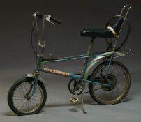 A Raleigh Chopper MK 2 bicycle, c.1970s, in metallic bluePlease refer to department for condition