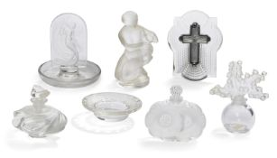 René Lalique, a 'Naiade' No.10-704, designed 1930, this version modern, a clear and frosted