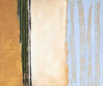Eliza Bonham-Carter, British b.1961- Streamer, 1988; oil on board, 38x45.5cm (ARR) Provenance: