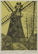 Birkin Haward, British b.1939- Petra 5, 2017; acrylic on card, 14x20cm, Provenance: Beardsmore
