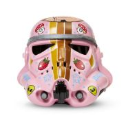 Guen Douglas, Canadian/British Contemporary- The Imperial Tattoo Army Star Wars Stormtrooper Helmet;