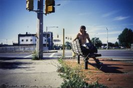Ed Templeton, American b.1972- Rochester, New York, 1996; c-print with hand written text, sheet 23.5