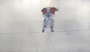 Takashi Murakami, Japanese b.1962- Playful And Carefree/A Leisurely Meander/ On Puppy Island