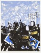 James Cauty, British b.1956; Copyright Theft, 2006; giclee print in colours on wove, a trial proof
