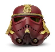Victor Chil, Spanish Contemporary- The Imperial Tattoo Army Star Wars Stormtrooper helmet; 2017;