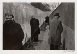 Josef Koudelka, Czech/French b.1938- Ireland, 1976; gelatin silver print, signed in black pen recto,