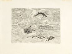 Anthony Gross CBE RA, British 1905-1984- Fish, 1951; etching on wove, signed and numbered 123/200 in