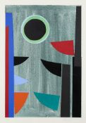 Sir Terry Frost RA, British 1915-2003- Green & Black Q [Kemp 159], 1997; screenprint in colours on