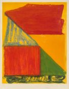 John Hoyland RA, British 1934-2011- Dido, 1979; etching with aquatint in colours on wove, signed,