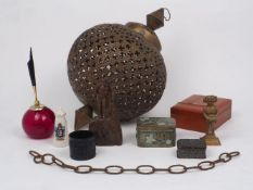 A collection of objects of vertu, early 20th century and later, to include: an Moroccan style