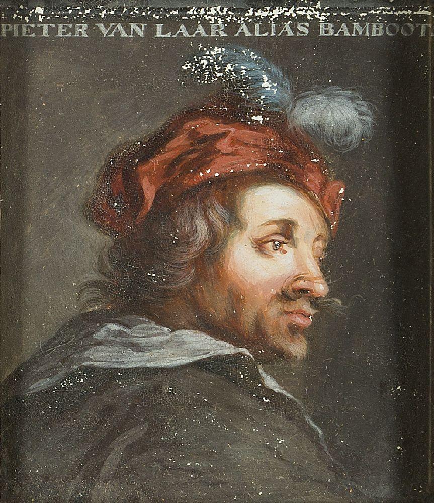 After Adriaen van Ostade, Dutch 1610-1685- Self-Portrait of the artist, after Jacob Gole; oil on - Image 4 of 6