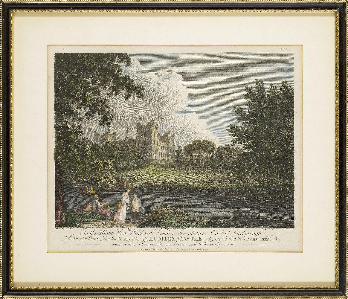 Joseph Swan, Scottish 1796-1872- Loch Arkeg, Loch Cullin and Loch Rannoch, after John Fleming; - Image 3 of 21