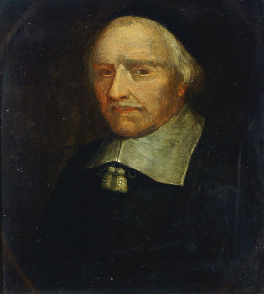 Dutch School, early-mid 18th century- Portrait of a man, quarter-length and turned to the left;