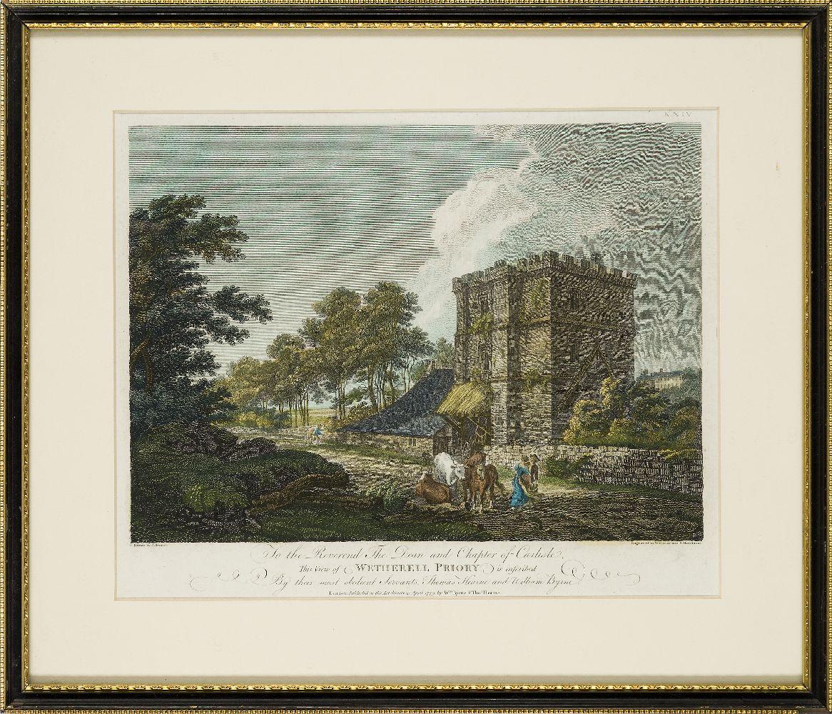 Joseph Swan, Scottish 1796-1872- Loch Arkeg, Loch Cullin and Loch Rannoch, after John Fleming; - Image 9 of 21