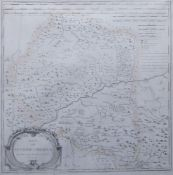 Tomas Lopez, Spanish 1730-1802- Mapa del Reynolde Cordova, 1761; engraving, 40.5x40.5cmPlease
