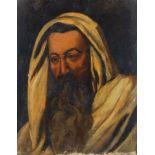 French School, early 20th century- Portrait of a man; oil on canvas, 51.5x40cm (unframed)Please