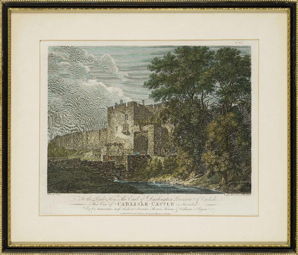 Joseph Swan, Scottish 1796-1872- Loch Arkeg, Loch Cullin and Loch Rannoch, after John Fleming; - Image 6 of 21