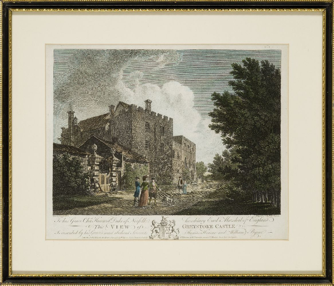 Joseph Swan, Scottish 1796-1872- Loch Arkeg, Loch Cullin and Loch Rannoch, after John Fleming; - Image 12 of 21