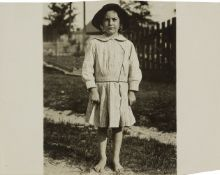 Lewis Hine, America 1874-1940- Cotton, 1913; silver gelatin print, inscribed on the reverse, 10.1