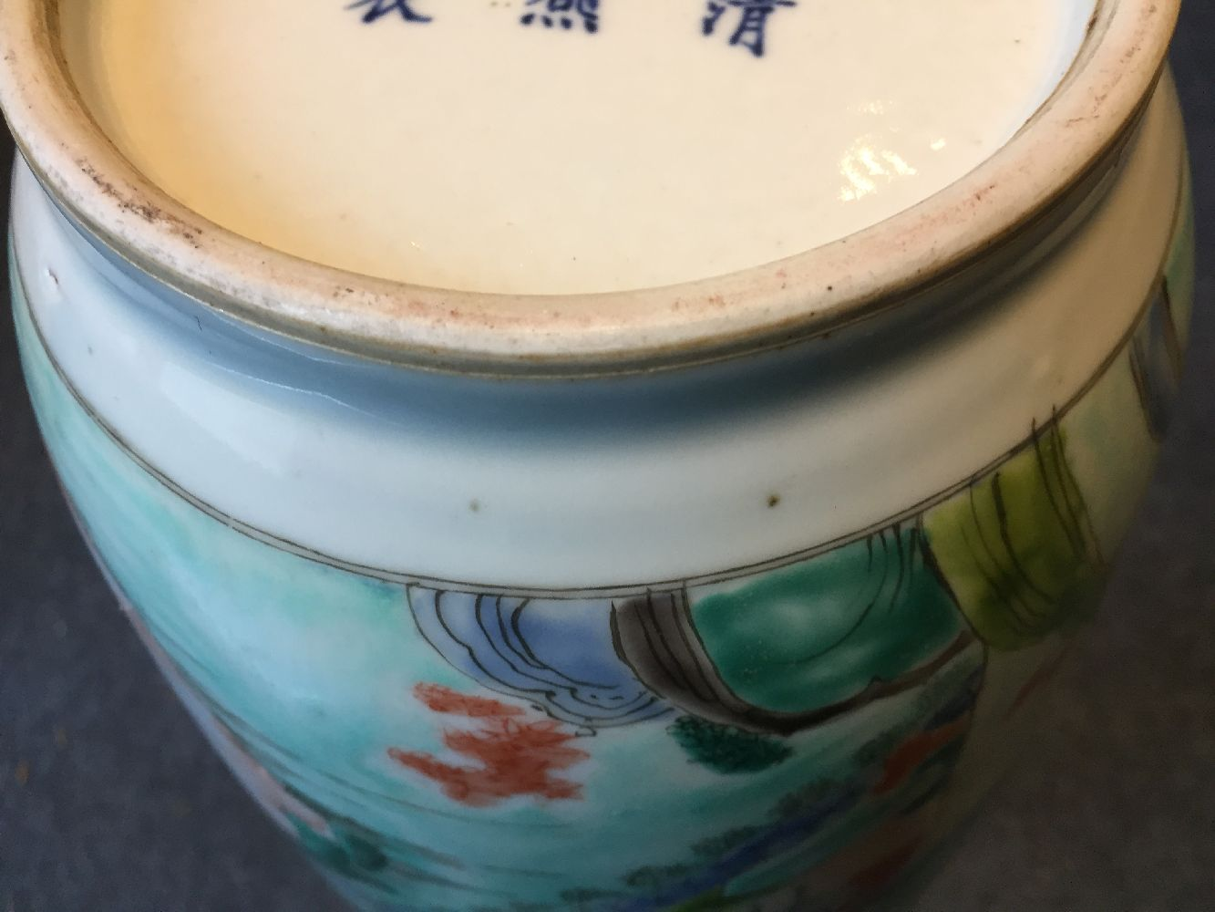 A Chinese porcelain 'silk production' rouleau vase, late Qing dynasty/ Republic period, painted in - Image 18 of 28