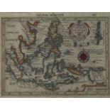 Three maps of Indonesia, 19th-20th century, comprising 'Java Major, 12x17cm, 'Les Isles Moluques'