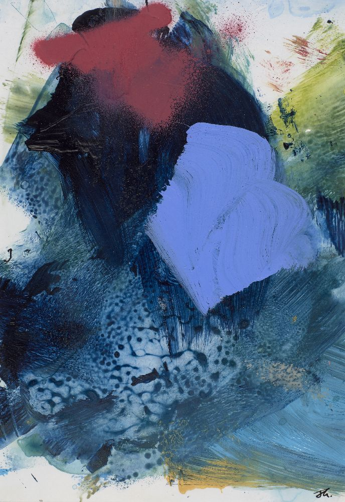 Joanna Gilbert, British, early 21st century- Untitled; mixed media on paper, 29x20cm (ARR) Please