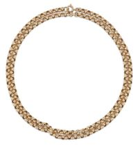 A belcher link neck chain, 72.5cm longPlease refer to department for condition report clasp