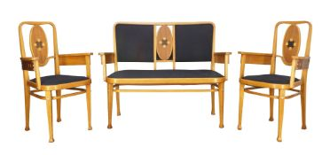 Marcel Kammerer, a model '414' salon suite, Second half 20th Century, unmarked, probably made by