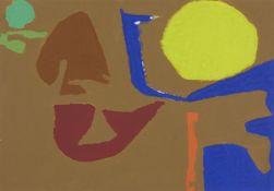 Patrick Heron, British 1920–1999 - December 31: 1982: I, 1982; gouache on paper, 50 x 35 cm (ARR)