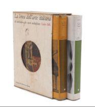 BALLO (G.), LA LINEA DELL'ARTE ITALIANA, 2 Vols., with dust covers and in hard linen sleeve,